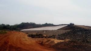 Main dam -turfing